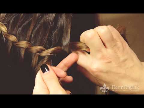 How To Create a Boho Waterfall Braid