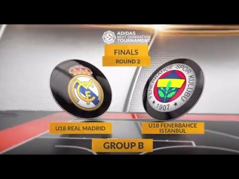 EB ANGT Finals Highlights: U18 Real Madrid-U18 Fenerbahce Istanbul