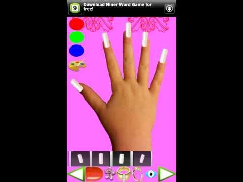 Video of Nail Decoration for Kids