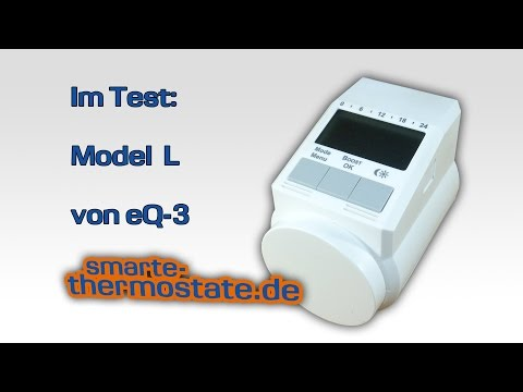 Test: Programmierbares Heizkörperthermostat Model L, eQ-3