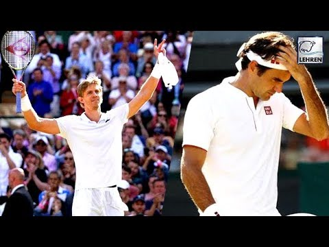 Wimbledon 2018: Roger Federer OUT of Wimbledon As Loses To Kevin Anderson