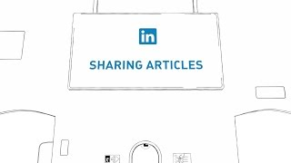 Sharing Articles on LinkedIn