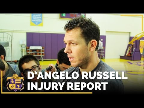 D'Angelo Russell Injury Update: Cleared For On-Court Activity, But When Will He Return?