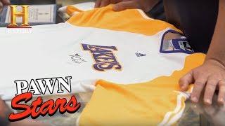 Pawn Stars: Kobe Bryant 2010 NBA Finals Warm-Up Jersey (Season 14) | History