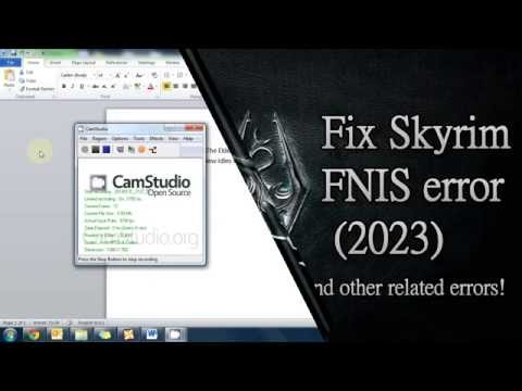 comment installer fores new idles in skyrim - fnis