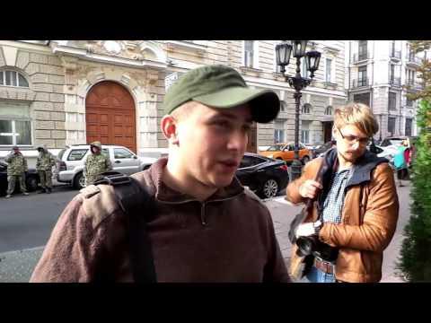 Активісти «Правого Сектору» Одеси зірвали сепаратистський з'їзд