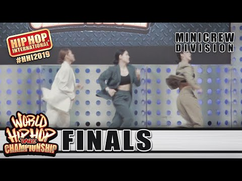 FRZM Movement - Korea (Bronze Medalist MiniCrew Division) at HHI 2019 World Finals