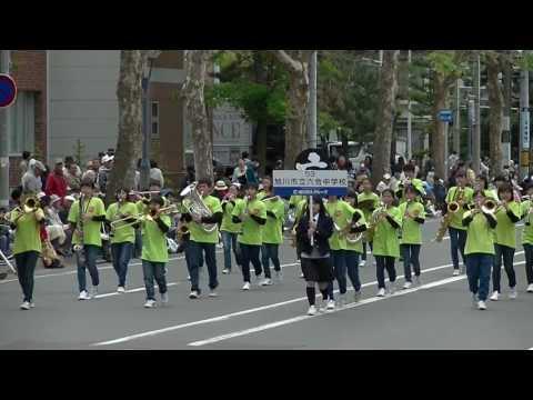 六合中学校*音楽大行進2017