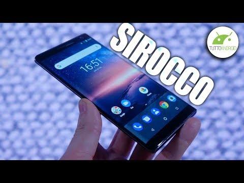 Lo STUPENDO Nokia 8 Sirocco! Anteprima ITA | MWC 2018