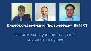 Развитие конкуренции на рынке медицинских услуг
