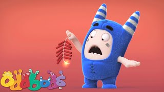 Oddbods | Chinese New Year Fire Cracker