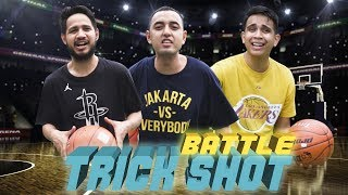 Video BASKETBALL TRICK SHOT Battle vs. Kemal Palevi MP3, 3GP, MP4, WEBM, AVI, FLV September 2018