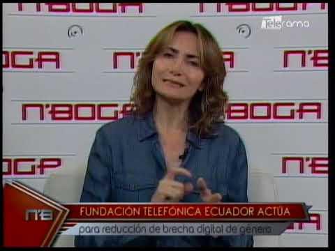 Fundación Telefónica Ecuador actúa para reducción de brecha digital de género