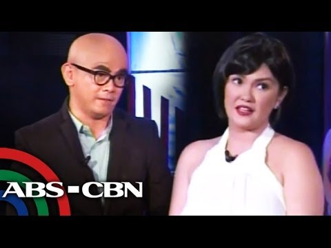 krissy - Comedian Jayson Gainza and actress Angelica Panganiban, reprising their roles as Tito Bhoy and Krissy, respectively, discussed the current events on
