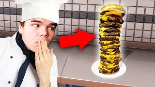 Video I Made The BIGGEST BURGER In The WORLD! (Cooking Simulator) MP3, 3GP, MP4, WEBM, AVI, FLV Juni 2019