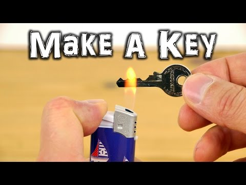 How To Make an Emergency Spare Key Cool