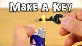 Comment fabriquer un double de clé, au cas où ... ?