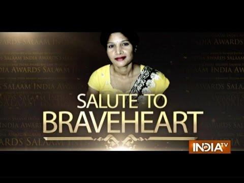 "India TV Special: ""Salaam India Awards 2014""- Fatima Khatun 25 October 2014 11 PM"