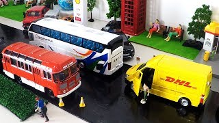 The Wheels On The Bus Nursery Rhymes Songs Compilation Kids Songs Cartoon Toys