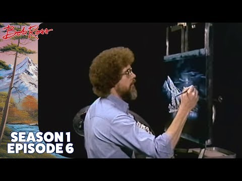 When Bob Ross imagined a morbid death just to draw a cabin