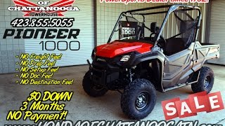 3. 2016 Pioneer 1000 Review / Specs (Base) - Discount Prices @ Honda of Chattanooga / TN PowerSports