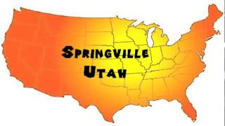 Springville (UT) United States  City pictures : How to Say or Pronounce USA Cities — Springville, Utah
