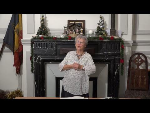 CDS Paris, 6 décembre 2018: Hélène Sejournet - Mémorisation de l'évangile