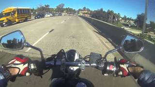 8. Vstar 250 afternoon cruise and gas stop