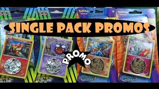 Opening 4 Checklane XY Pokemon TCG Promo Blisters ! PTCGO Winner is ... by Papa Blastoise