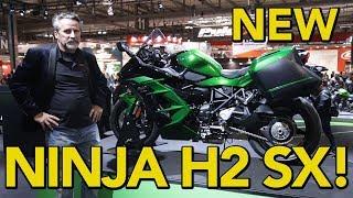2. A Closer Look at the 2018 Kawasaki Ninja H2 SX!