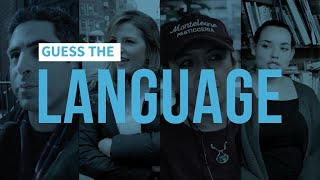 Can You Guess What Language The Polyglot Is Speaking?