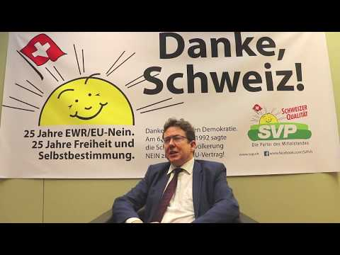 25 Jahre EWR/EU-Nein: 25 Jahre Freiheit und Selbstbestimmung.