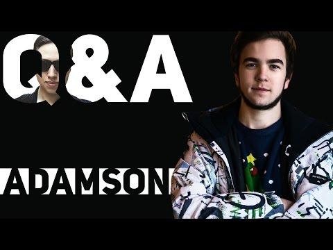 ADAMSON в гостях у SEMCHENKO (Видео на камеру)