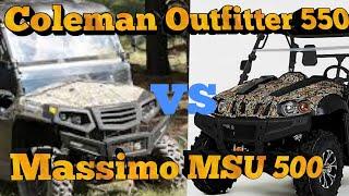 10. Coleman Oufitter 550 UTV vs Massimo MSU 500 by Hisun Motors at Tractor Supply Black Friday Sale