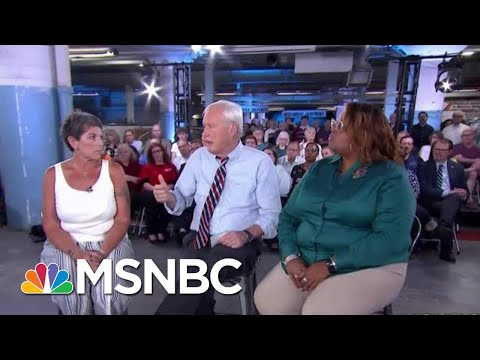 Will Voters In Dayton, Ohio For President Donald Trump Again? | Hardball | MSNBC