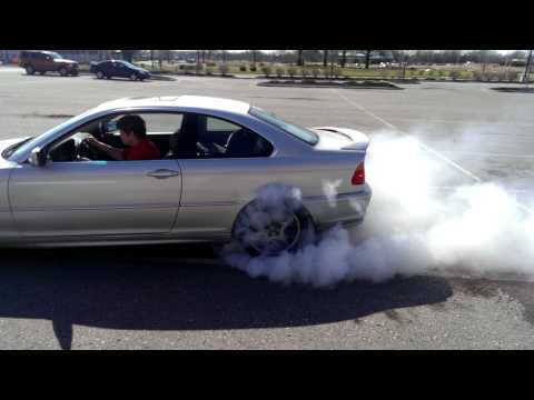 E46 325Ci burnout