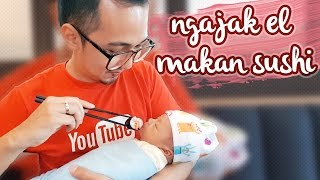 Video Baby el makan sushi hahaha #keluargael MP3, 3GP, MP4, WEBM, AVI, FLV November 2017