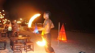 Thailand, Koh Samet, Fire Show