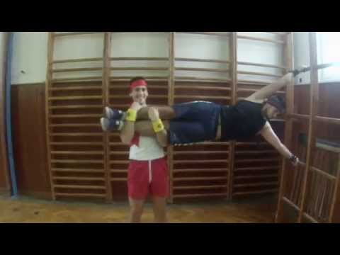 "2014 - Scénka ""School Workout Via Humana"" na Imatrikulácie"