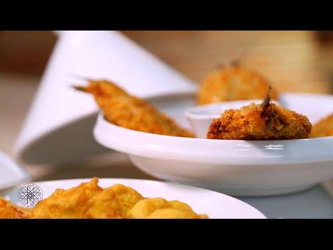 Sardines sauce aux carottes et pastels de pomme de terre