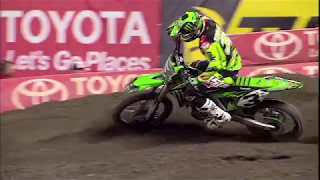 Eli Tomac talks about what changed in his program that led to his ability to contend for the title.Monster Energy® AMA Supercross, an FIM World Championship, is the premier off-road motorcycle racing circuit in the world, produced inside the world's most elite stadiums. Monster Energy® Supercross tracks are man-made inside the stadium. Some of the sport's marquee names include Ryan Dungey, Ken Roczen, Eli Tomac, Trey Canard, Jason Anderson, Chad Reed, David Millsaps and former supercross greats Jeremy McGrath and Ricky Carmichael. Regarded as the king of action sports, supercross has been described as one of the most physically demanding sports. Visit our official website: http://www.SupercrossLive.comShop for official merch: http://www.supercrosssuperstore.comWatch us on YouTube: http://www.youtube.com/supercrossliveLike us on Facebook: http://www.Facebook.com/SupercrossLive Follow us on Twitter: http://www.Twitter.com/SupercrossLive  Follow us on Instagram: http://instagram.com/SupercrossLive