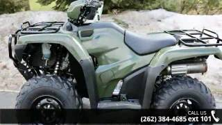 5. 2016 Honda FourTrax Foreman 4x4 ES Power Steering  - Acti...