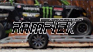 7. PRODUCT REVIEW: Ramptek UTV Trailers & Decks