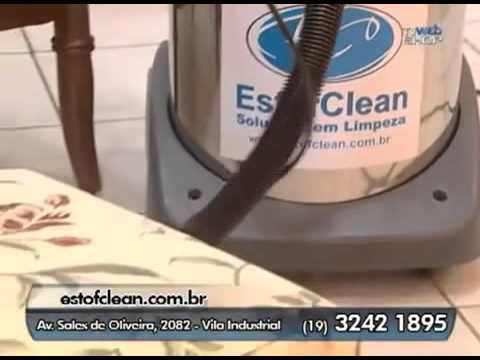Assistir Vídeo EstofClean - TV Web Shop