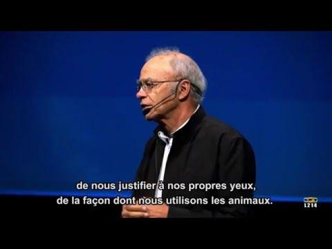 Conférence Peter Singer / L214 - Les Cahiers antispécistes видео