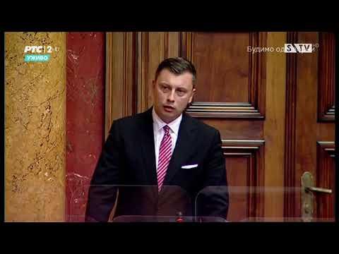 Narodni poslanik Samir Tandir obraćanje u Skupštini 24. 10. 2020.