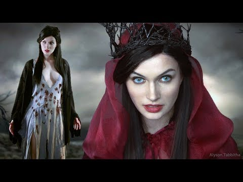 HELLBOY - Nimue Blood Queen Makeup / Wig / Costume - Cosplay Tutorial