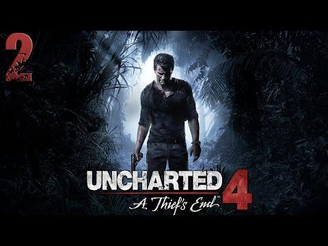 Uncharted 4: Путь вора. Прохождение. Часть 2 (Адово место)