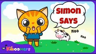 Video Simon Says | Music Game for Kids | Simon Says Song | Simon Says for Kids | The Kiboomers MP3, 3GP, MP4, WEBM, AVI, FLV Agustus 2018