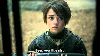 """A man does not drink for a day and a night. A boy could make a friend."" - Jaqen H'gharHBO is the owner of 'Game of Thrones' and all of this footage.http://www.youtube.com/user/GameofThronesWatch Game of Thrones online at HBO GO® http://www.hbogo.comSeason 2, Episode 2 - ""The Night Lands""------Wish to Support BestofThrones? (Completely optional)- Follow our Twitter: http://www.twitter.com/BestofThrones- Donation via Paypal: http://goo.gl/WuUEv7------Hired 'Design- and Video- Producer':http://www.youtube.com/ItsLorgarn------Official Sponsors of Bestofthrones:- http://www.Divinitycraft.org/WelcomeA popular Minecraft server based on some 'Game of Thrones'-elements."